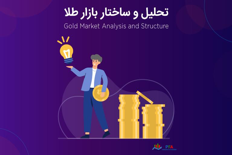 تحلیل و ساختار بازار طلا